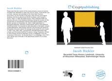 Bookcover of Jacob Bickler