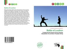 Borítókép a  Battle of Leuthen - hoz