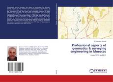 Bookcover of Professional aspects of geomatics & surveying engineering in Morocco