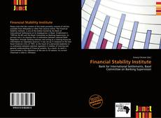 Capa do livro de Financial Stability Institute