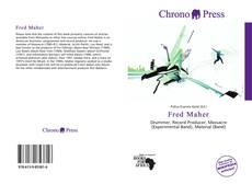 Buchcover von Fred Maher