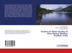 Capa do livro de Studies on Water Quality of River Newaj, Madhya Pradesh, India