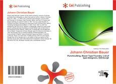 Buchcover von Johann Christian Bauer