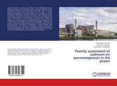 Bookcover of Toxicity assessment of cadmium on spermatogenesis in the prawn