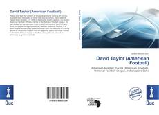 Bookcover of David Taylor (American Football)