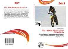 Bookcover of 2011 Qatar Motorcycle Grand Prix