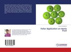 Foliar Application on Aonla Fruit kitap kapağı