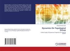 Buchcover von Dynamics On Topological Group