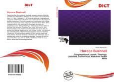 Bookcover of Horace Bushnell