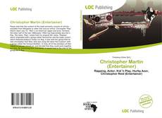 Bookcover of Christopher Martin (Entertainer)