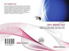 2011 ANZAC Test的封面
