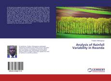 Bookcover of Analysis of Rainfall Variability in Rwanda