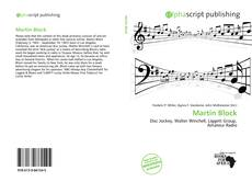 Bookcover of Martin Block