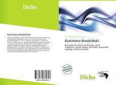 Buchcover von Kazimierz Brodziński