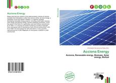 Bookcover of Acciona Energy