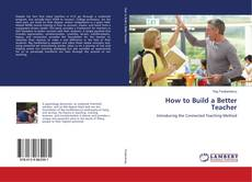 Capa do livro de How to Build a Better Teacher