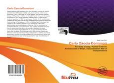Capa do livro de Carlo Caccia Dominioni