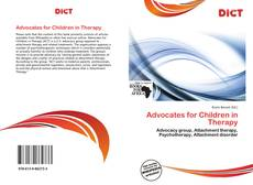 Couverture de Advocates for Children in Therapy