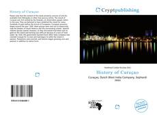 Bookcover of History of Curaçao