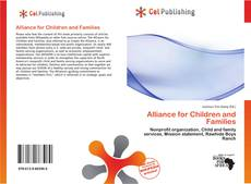Portada del libro de Alliance for Children and Families