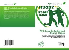 Capa do livro de 2010 Cronulla-Sutherland Sharks Season