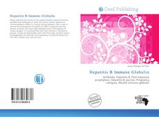 Bookcover of Hepatitis B Immune Globulin