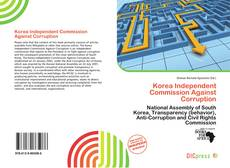 Bookcover of Korea Independent Commission Against Corruption