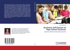 Academic Self-Esteem of High School Students kitap kapağı