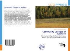 Bookcover of Community Colleges of Spokane