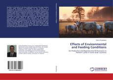 Bookcover of Effects of Environmental and Feeding Conditions