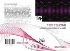 Hanns Holger Rutz的封面