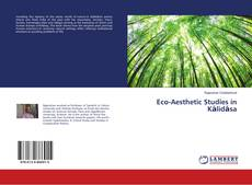 Bookcover of Eco-Aesthetic Studies in Kālidāsa
