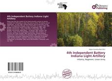 Portada del libro de 4th Independent Battery Indiana Light Artillery