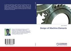 Design of Machine Elements kitap kapağı