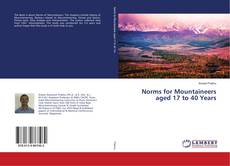 Copertina di Norms for Mountaineers aged 17 to 40 Years