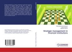 Buchcover von Strategic management in financial institutions