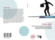 Bookcover of Charles Beck