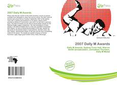 Bookcover of 2007 Dally M Awards