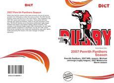 Borítókép a  2007 Penrith Panthers Season - hoz