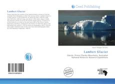 Bookcover of Lambert Glacier