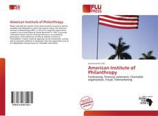Borítókép a  American Institute of Philanthropy - hoz