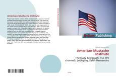 Buchcover von American Mustache Institute
