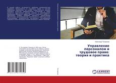 Buchcover von Управление персоналом и трудовое право: теория и практика