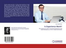 Bookcover of Is Experience Work?