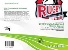 Capa do livro de 2000 Cronulla-Sutherland Sharks Season