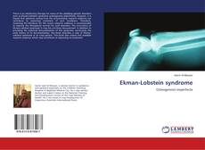 Bookcover of Ekman-Lobstein syndrome