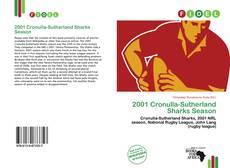 Capa do livro de 2001 Cronulla-Sutherland Sharks Season