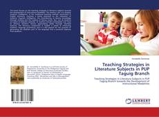 Portada del libro de Teaching Strategies in Literature Subjects in PUP Taguig Branch