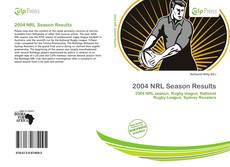 Обложка 2004 NRL Season Results