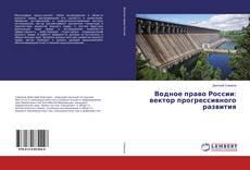 Водное право России: вектор прогрессивного развития kitap kapağı